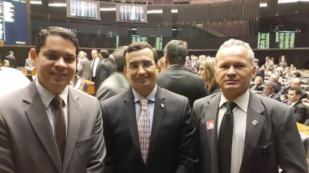 Alfredo Miranda, Benjamin Maranhão e Joselito Bandeira