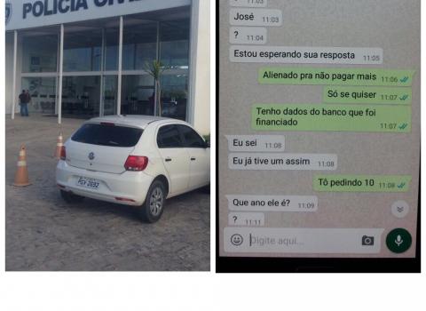 Carros Usados Em Golpe Na Olx Sao Recuperados Pela Policia Na