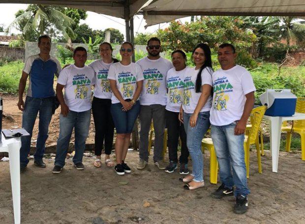 Secretaria de Saúde de Alhandra realiza dia D da vacinação antirrábica e campanha segue até dia 31