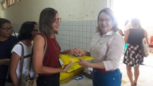 Secretaria de Educação de Alhandra realiza Primeiro Encontro de formação do PNAIC