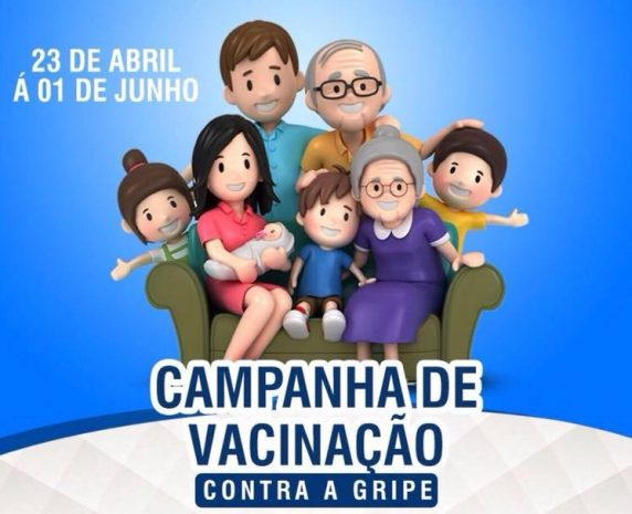 Campanha de vacinação contra a gripe será realizada até 01 de junho em Alhandra