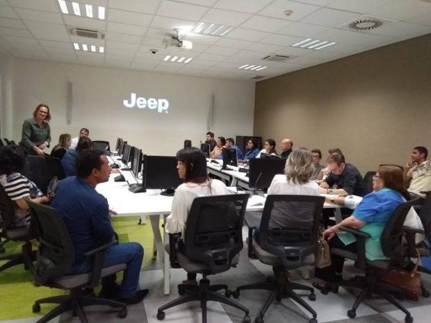 Secretários de Alhandra e Caaporã participam de reunião na Jeep sobre aprimoramento do 'Rota do Saber'