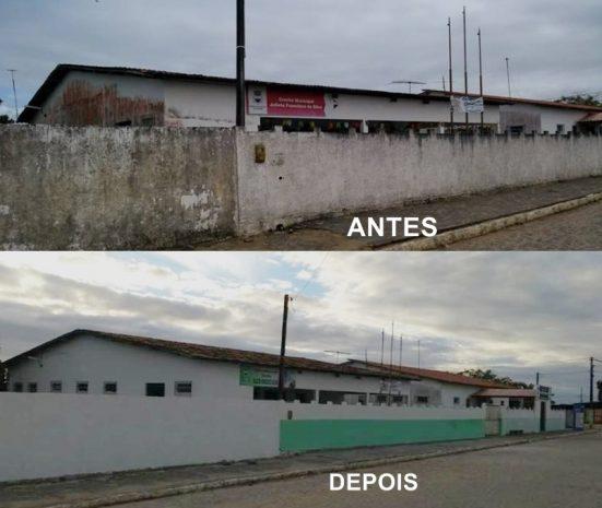 Secretaria de Educação de Alhandra continua reformando escolas e realiza entrega de eletrodomésticos e eletroeletrônicos