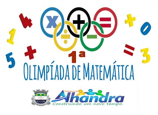 Prefeitura lança Olimpíada Municipal de Matemática para alunos de Alhandra com vários prêmios
