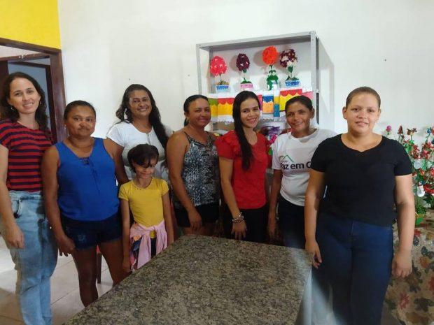 Cras e Creas encerram atividades do ano em Alhandra com os grupos de artesanato e oficinas de pizzas e penetones