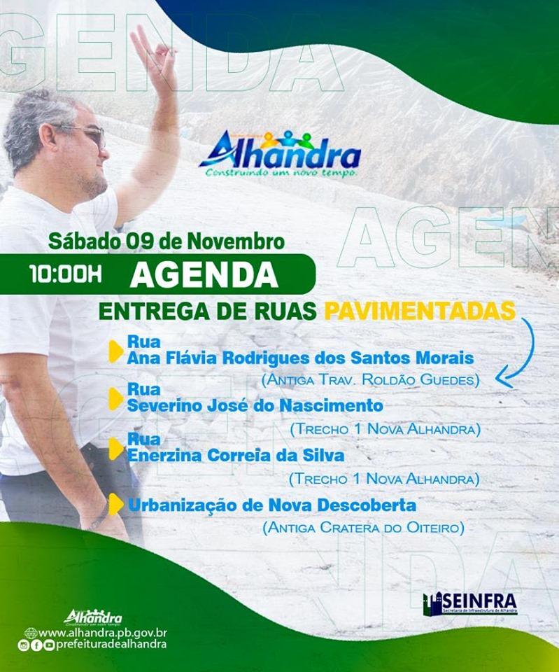 Prefeito Renato Mendes inaugura pavimentação de ruas e entrega mega obra de urbanização em Nova Descoberta