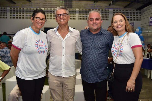 """Secretaria de Saúde de Alhandra encerra campanha """"Novembro Azul"""" com ações voltadas à saúde do homem"""