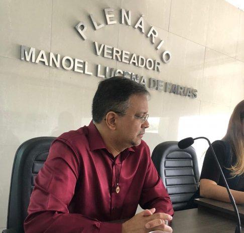 Secretária de Saúde de Alhandra presta contas de sua gestão na Câmara de Vereadores durante audiência pública