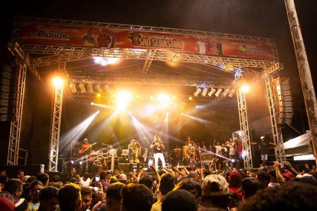 Multidão consagra sucesso da festa de São Sebastião, padroeiro do bairro do Oiteiro, em Alhandra